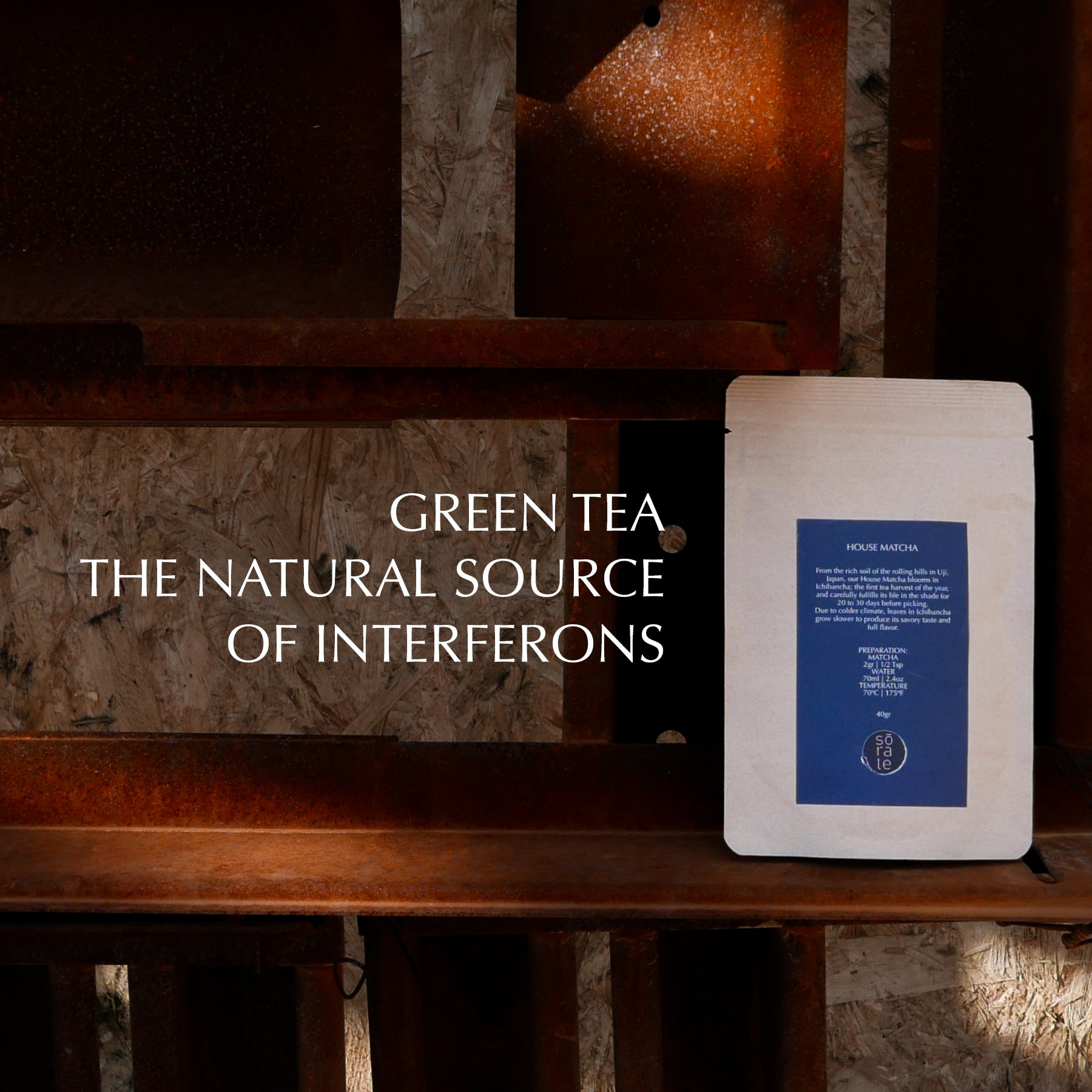 green tea source of interferons