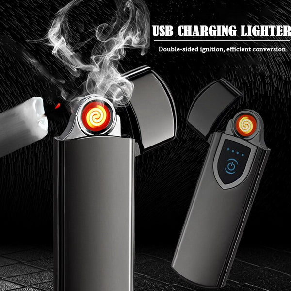 Newest USB Metal Charging Light for Cigarette Smokers