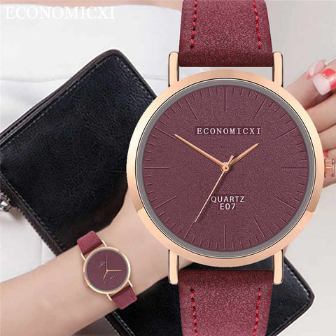 Trend Style Womens Watch Leather