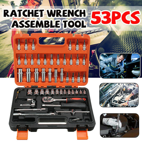 53pcs. High Quality Steel Repair Tool Hardware Set