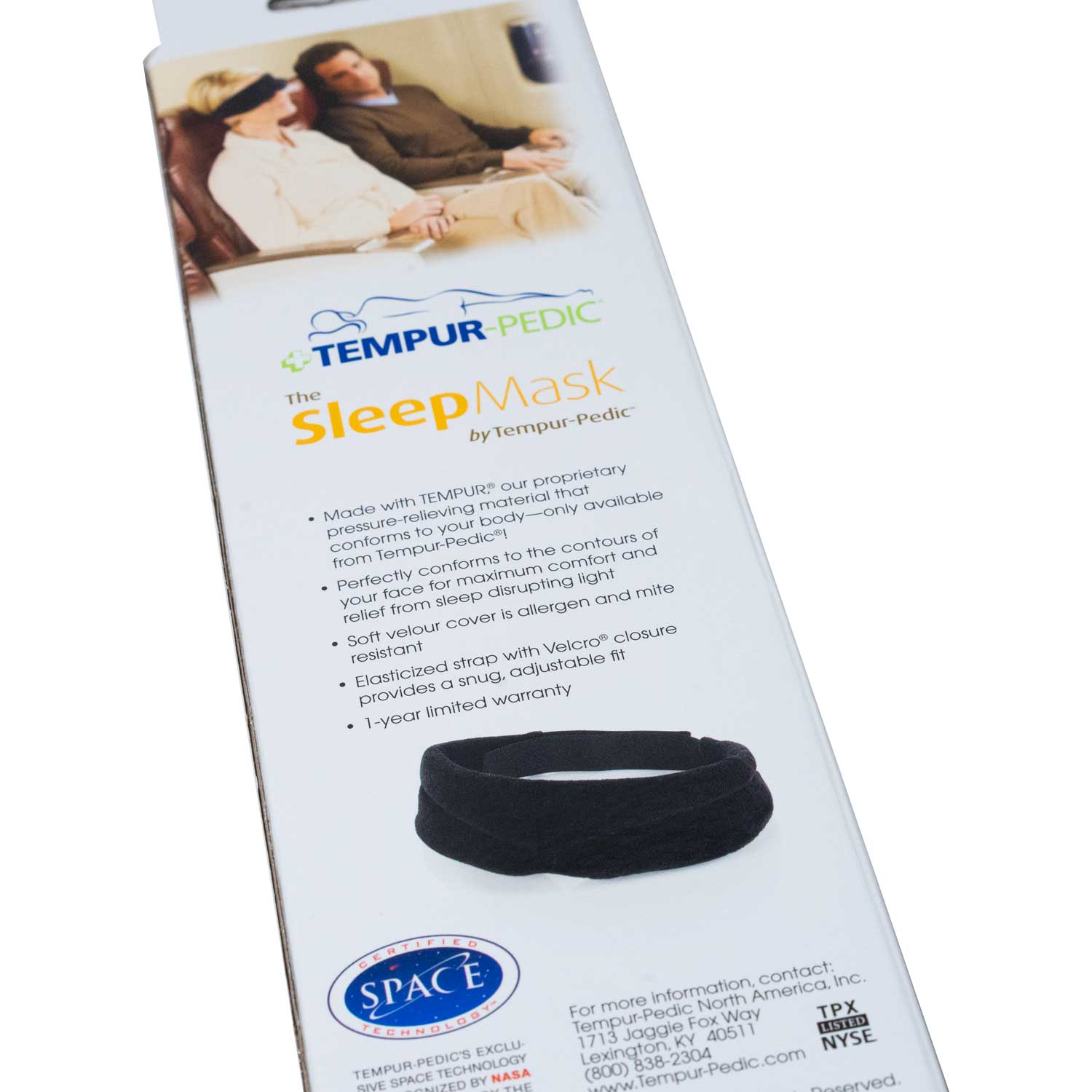 The Sleep Mask by Tempur Pedic(平行進口)