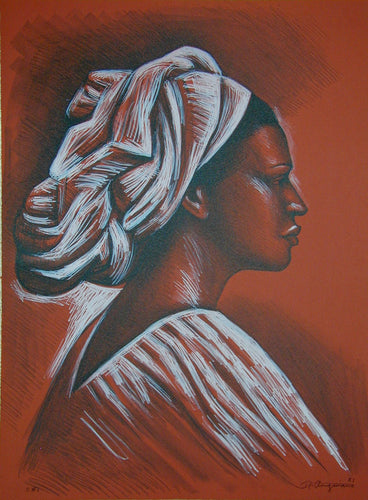 Woman with Turban - MLA Gallery-
