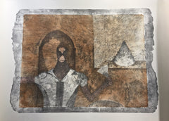 El Ermitano (The Hermit) from the Rufino Tamayo 90th Anniversary suite (90 Aniversario)