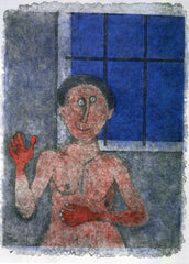 La Coqueta (The Flirt) from the Rufino Tamayo 90th Anniversary suite (90 Aniversario)