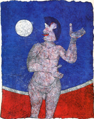 Luna Llena (Full Moon) from the Rufino Tamayo 90th Anniversary suite (90 Aniversario)