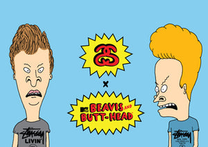 Stussy x Beavis and Butt-Head