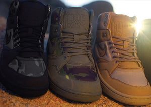 stussy nike air force mid