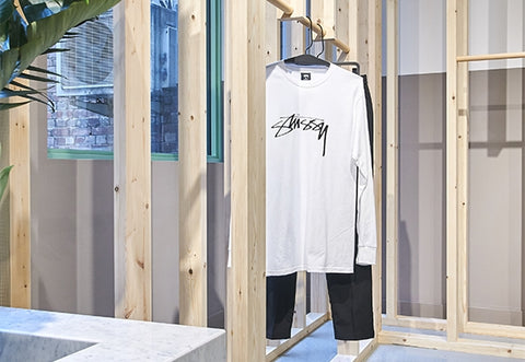 Tees Hanging Inside Store