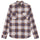 Adam Plaid Shirt - Purple