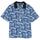 Coral Pattern Shirt - Blue