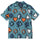 Card Suits Shirt - Teal