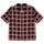 Hand Drawn Plaid Shirt - Black