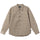 Quilted Insulated Ls Shirt - Beige
