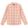 Venice Plaid Ls Shirt - Peach