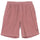 O'DYED WIDE CORD BEACH SHORT - ROSE