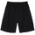 Brushed Beach Short - Black