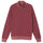 Check Zip Mock - Maroon
