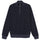 Check Zip Mock - Navy
