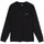 Stock Logo LS Shirt - Black