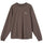 Stock Logo LS Shirt - Brown