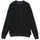 Cotton Mesh Crew - Black