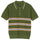 Montego Stripe Polo - Green
