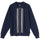 Full Zip LS Knit Polo Sweater - Navy