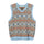 Giza Sweater Vest - Blue