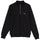 STOCK FLEECE MOCK - BLACK