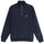 STOCK FLEECE MOCK - NAVY