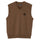 S Leaf Vest - Brown