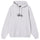 Copyright Stock Embroidered Hoodie - Ash Heather