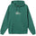 Copyright Stock Embroidered Hoodie - Dark Green