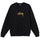 Stock Embroidered Crew - Black