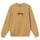 Stock Embroidered Crew - Khaki