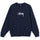 Stock Embroidered Crew - Navy