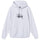 Basic Stüssy Embroidered Hood - Ash Heather