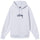 Stock Logo Embroidered Hoodie - Ash Heather