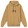 Stock Logo Embroidered Hoodie - Khaki