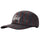 Big Logo Striped Low Pro Cap - Charcoal