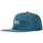 Stock Iridescent Strapback Cap - Blue