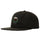 Big Herringbone Strapback Cap - Black