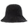 Knit Bucket Hat - Black