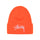 Big Stock Cuff Beanie - Orange