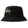Big Logo Twill Bucket Hat - Black