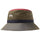 Color Block Bucket Hat - Olive