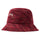 Multi Color Knit Bucket Hat - Red