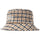 Big Logo Check Plaid Bucket - Mustard