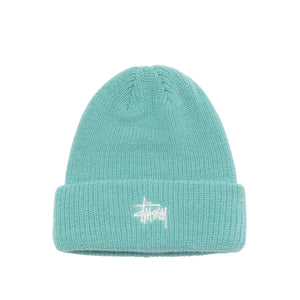 white Stussy Peace And Prosperity Dot Beanie Cap