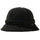 Sherpa Fleece Bell Bucket Hat - Black